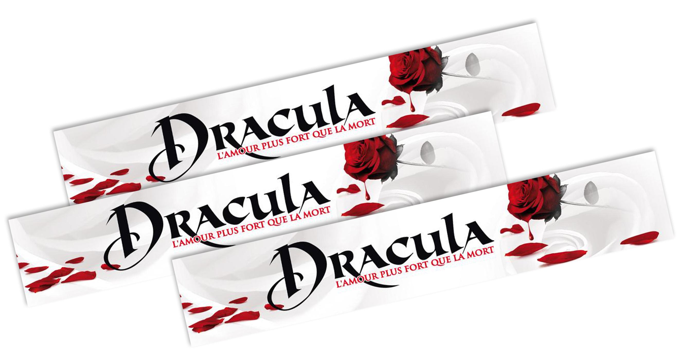 Partenariat de co-branding avec échange marchandise et jeu-concours Dracula-Monceau Fleurs