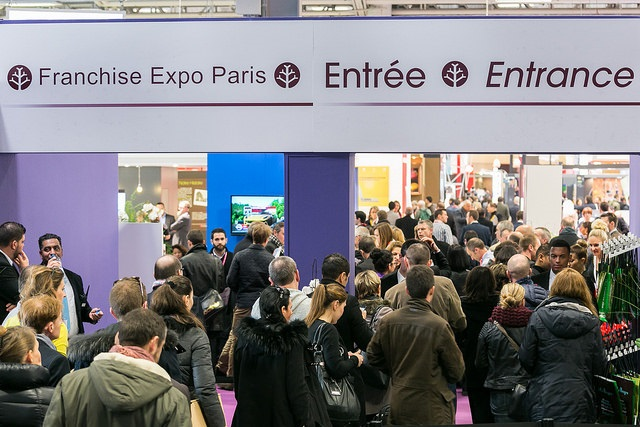 Visuel Entrée Franchise Expo 2015 pour article blog Hélène BUISSON